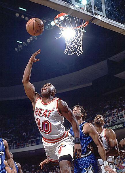 Tim Hardway Miami Heat