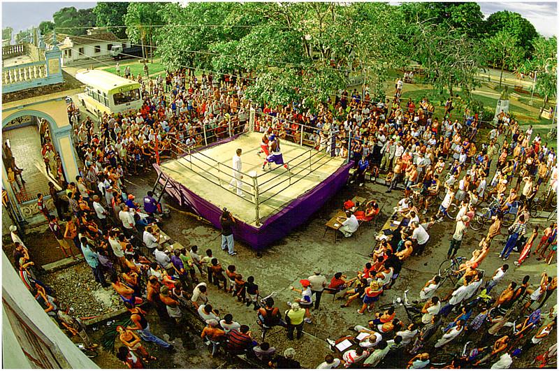 Boxing in La Lisa Havana Cuba