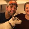 Brad & Amanda with their dog 1-27-19