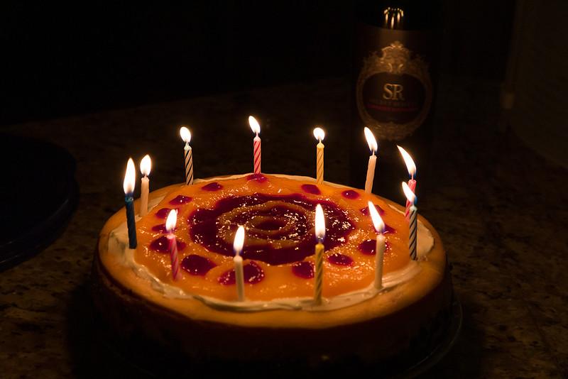 Debbie's famous cheesecake