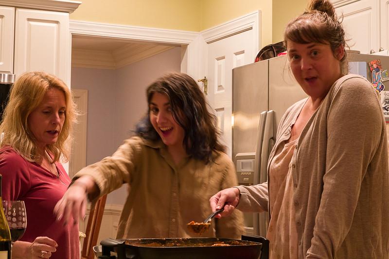 Three Gals in the Kitchen