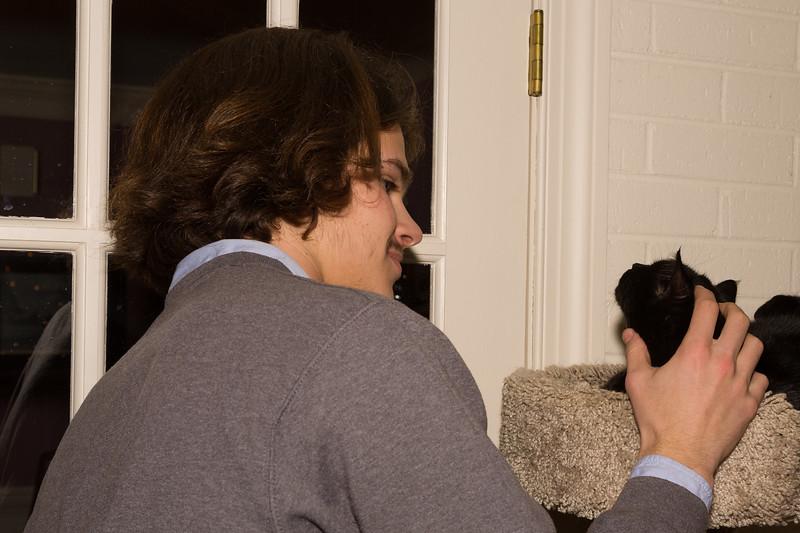 Nick & Jake (the cat)