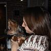 Sydney with Dog #1
