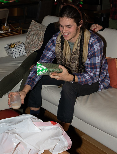 Nico with Gift