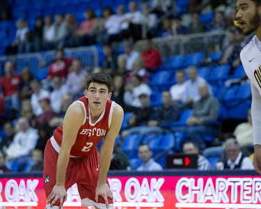 Boston University's John Papale Sunday at the TD Bank Sports Arena in Hamden Dec. 13, 2015 | Justin Weekes / For the Record-Journal