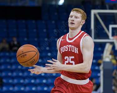 Boston University's Kyle Foreman Sunday at the TD Bank Sports Arena in Hamden Dec. 13, 2015 | Justin Weekes / For the Record-Journal