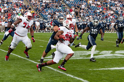 East Hartford CT Sept. 8 2012 Rentschler Field  North Carolina State  halfback  26  Tony Creecy