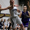 St. Peter-Marian High School girls basketball played St. Bernard's High School in Fitchburg on Thursday afternoon. St. B's Lisbeth Hoyt tries to put up a shoot during action in the game. SENTINEL & ENTERPRISE/JOHN LOVE
