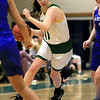 Fitchburg State University ladies basketball played Albertus Magnus College on Wednesday afternoon at the Recreation Center on campus. FSU's Payton Holmes drive to the basket. SENTINEL & ENTERPRISE/JOHN LOVE