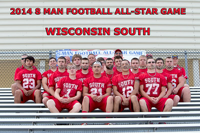 Football - 8 Man All-Star Game - July 18, 2014