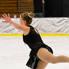 Cordelia Moran performs at the Bay State Winter Games Sunday afternoon.