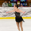 Madison Quinn skates Sunday at the Bay State Winter Games.