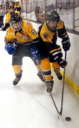 Berkshire Bruins vs. CT Riverhawks in Kittredge Youth Hockey Tournament-011417