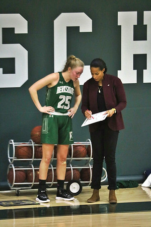 Berkshire School girls basketball vs. Canterbury-011718
