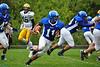 Kareen Beckett scores a touchdown. (Jack Guerino/ North Adams Transcript)