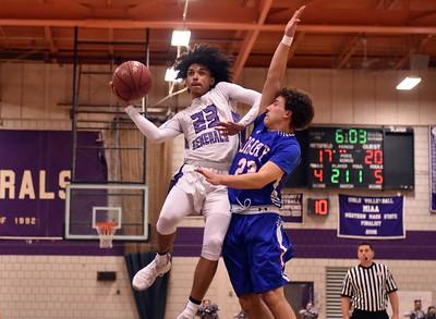Drury boys basketball at Pittsfield - 011818