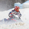 Chance Teitjen fights through the snow spray in finals Saturday.