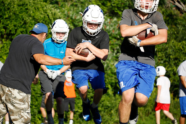 First football practice of season for Drury-081916