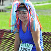Laurel Goodhind wore a patriotic headband to run in the Indepndence Day 5k road race with this Thursday July 4, 2013 in Pittsfield. Photos by Sarah Howard / Special to The Eagle