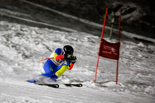 Giant Slalom at Bousquet-011718