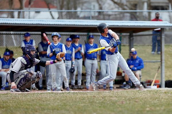 Drury 4-3 Baseball Win Over Brattleboro-041415