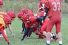 Ian Hill during Hoosac Valley High School football practice on Thursday October 24, 2013. (Gillian Jones/North Adams Transcript)