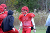Ty Mach during Hoosac Valley High School football practice on Thursday October 24, 2013. (Gillian Jones/North Adams Transcript)