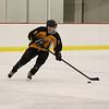 Mount Everett's Luke Murphy skates through a drill during practice at Berkshire School. (Matthew Sprague / Berkshire Eagle Staff)