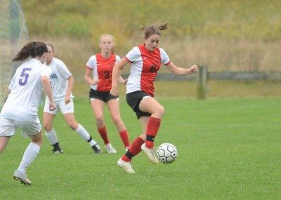Hoosac Valley and Pittsfield play in girls soccer-092916
