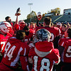 Hoosac players celebrate their win over Ware in the Division VIII championship.