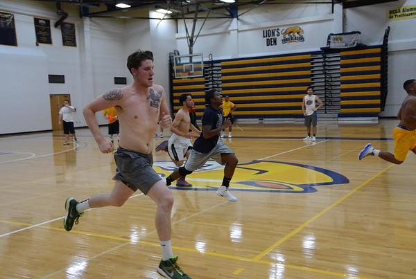 MCLA Mens Basketball Practice - 101716