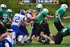 Dylan Darling pushes through Mohawk defense.