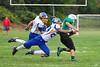 Dylan Darling maneuvers around Mohawk defense.