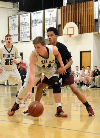 McCann Tech boys basketball beats Hampden Charter-022117
