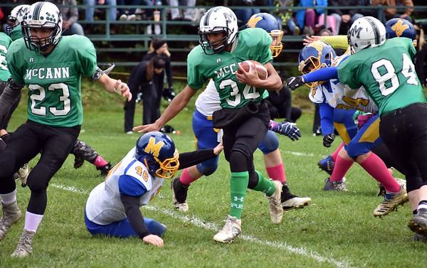 McCann Tech football vs. Mohawk - 101318