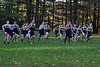 McCann runners take off from the starting line during Tuesday's cross country race against Franklin Tech. (Jack Guerino/ North Adams Transcript)