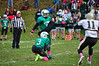 Levi Lawson kicks a field goal. (Jack Guerino/North Adams Transcript)