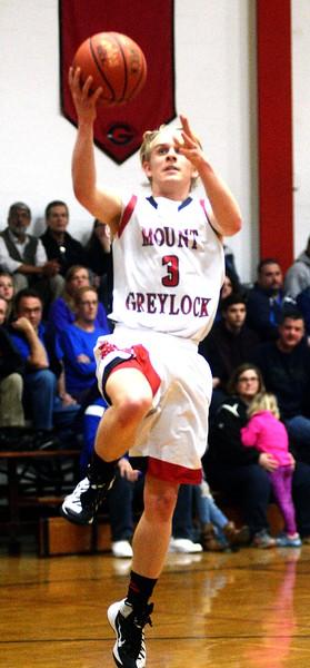 Mount Greylock Boys Basketball vs Narragansett - 022717