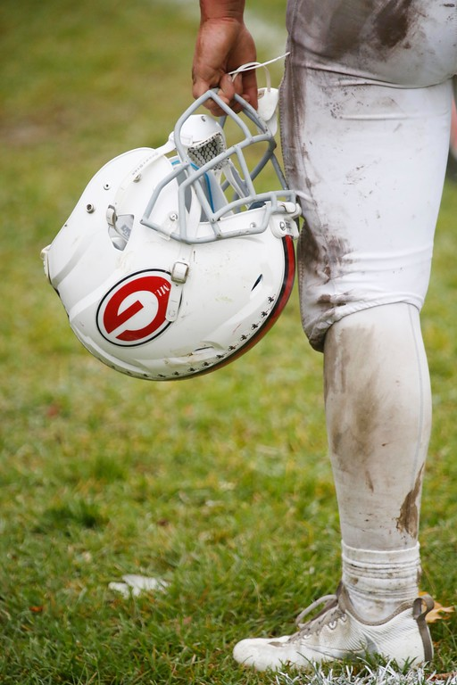 . Mount Greylock continues its undefeated streak with a 52-12 win over Drury at Drury High School in North Adams. Saturday, October 29, 2016. Stephanie Zollshan � The Berkshire Eagle | photos.berkshireeagle.com