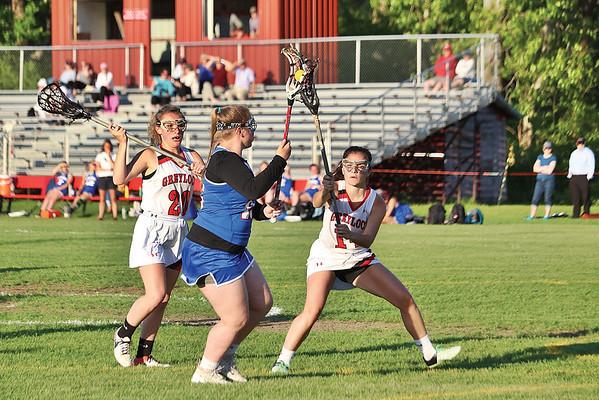 Mount Greylock girls lacrosse vs. Mount Anthony Union - 052118
