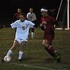 Melissa Swann moves the ball past Athol defense in the midfield. (Jack Guerino/North Adams Transcript)