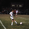 Melissa Swann moves the ball past Athol defense in the midfield. (Jack Guerino/North Adams Transcript)