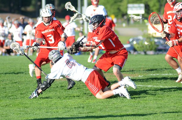 No. 10 Hoosac Valley vs. No. 7 Pope Francis in Central/West Division III boys lacrosse tournament-053117