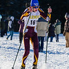 Lenox skier Ted Yee glides pushes through the chilly air to finish 11th in the Boys' Varsity race.