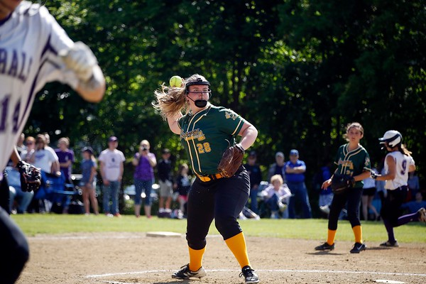 PHS vs THS in first round of W. Mass softball-060117