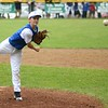 GEOFF SMITH — THE BERKSHIRE EAGLE<br /> Pittsfield National pitcher Matt Lee throws a pitch against Pittsfield American in the 11-12 District I Little League championship game on Friday, July 14, 2017.