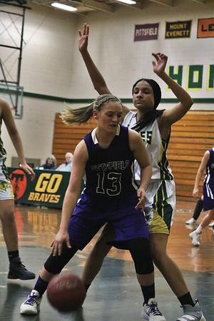 Pittsfield vs. Taconic Girls Basketball on Jan. 16