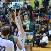 GEOFF SMITH - THE BERKSHIRE EAGLE<br /> Taconic's Deonte Sandifer goes up for a shot against Longmeadow in the Western Mass. Division II championship game. March 11, 2017.