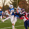 Augie Roughley intercepts the ball Saturday during Wahconah's 45-20 win.