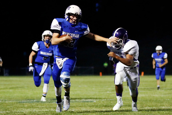 Wahconah plays Holyoke in football-091616